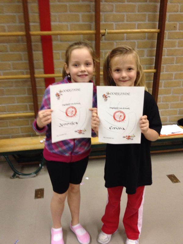 Minis van de Week: Jennifer en Emma